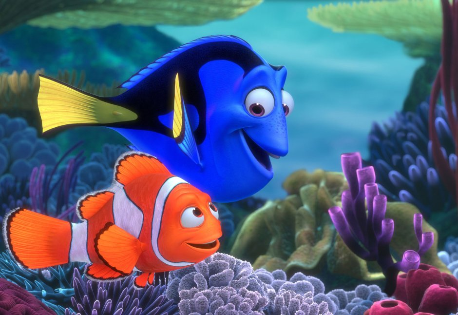Movie Night: Finding Nemo 5:30pm, Finding Dory 7:05pm